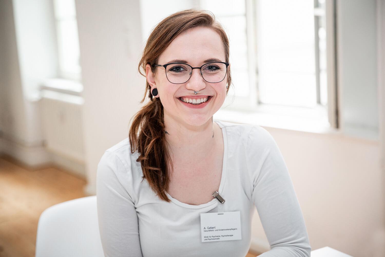 Anne Gebert, Gesundheits- und Krankenpflegerin.