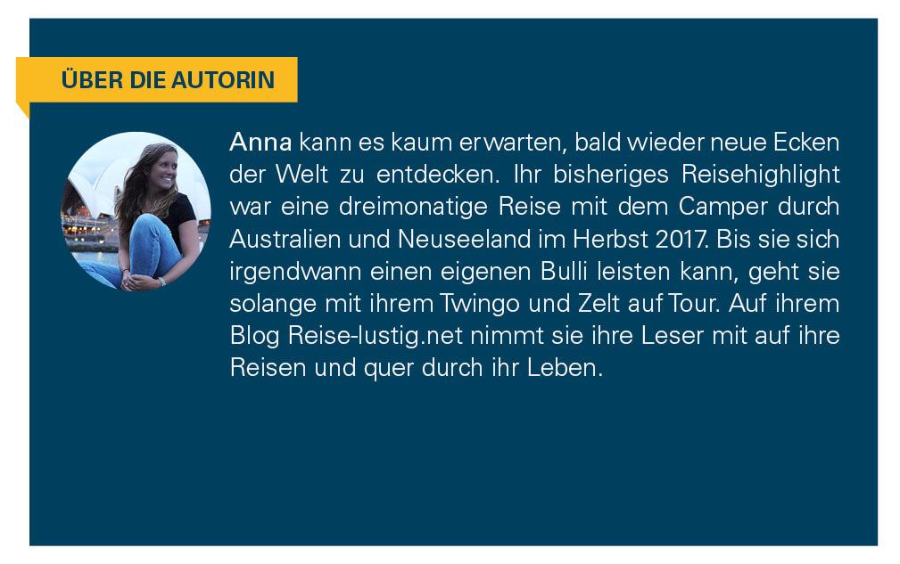 Kurzbeschreibung der Autorin.