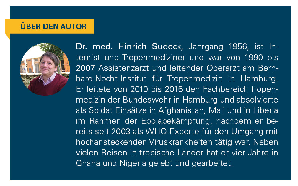Kurzbeschreibung des Autors Doktor Sudeck.
