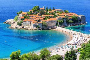 Badebucht in Budva – Montenegro.