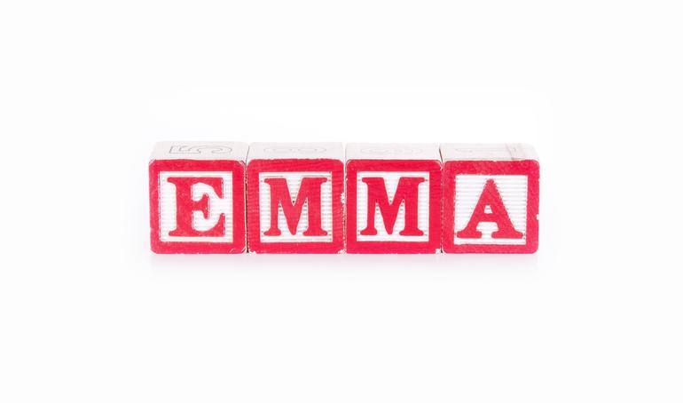 Emma ist der beliebteste weibliche Vorname