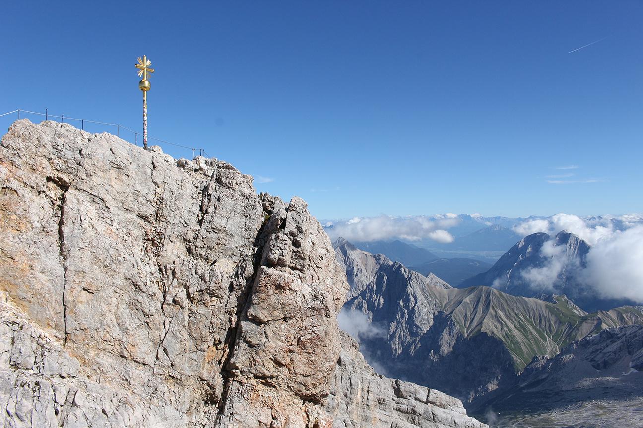Blick-auf-die-Zugspitze