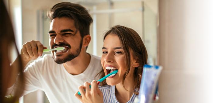 zahnhygiene-durch-zaehneputzen